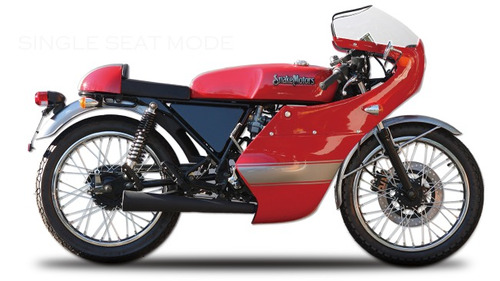 puro cafe racer , snakemotors 77 250 cc exclusiva y unica