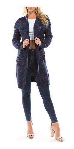 puro color suelto estilo tejer rebeca / suéter escudo