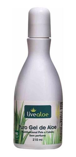 puro gel de aloe + bálsamo de gerânio live aloe