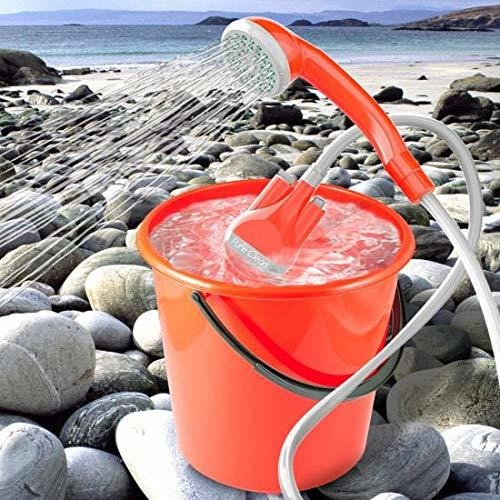 Piscina enchufe de carga USB de Pure Clean playa recargable Limpieza de mascotas Riego de plantas Kit de enjuague Alimentado por bater/ía Camping Ducha port/átil for acampar Aire libre