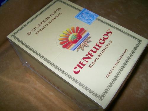 puros cigarros cienfuegos esplendidos caja x 25  tabacosweb