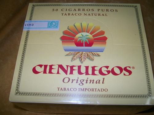 puros cigarros cienfuegos original caja x 50 u. tabacosweb