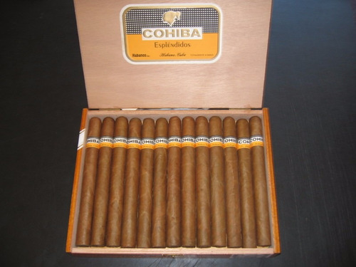 puros cubanos (cohiba esplendidos)