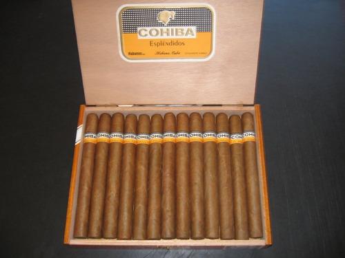 puros cubanos cohiba espléndidos nuevos frescos julio 2016