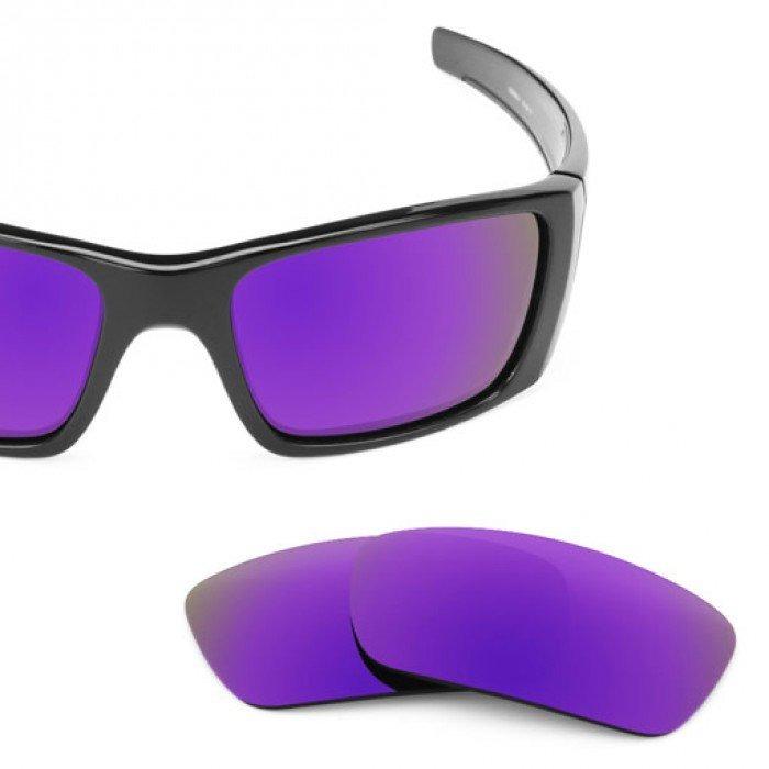 7aad956b5fd1c Purple Violet Lente Polarizada Para Oakley Fuel Cell A + Top - R ...