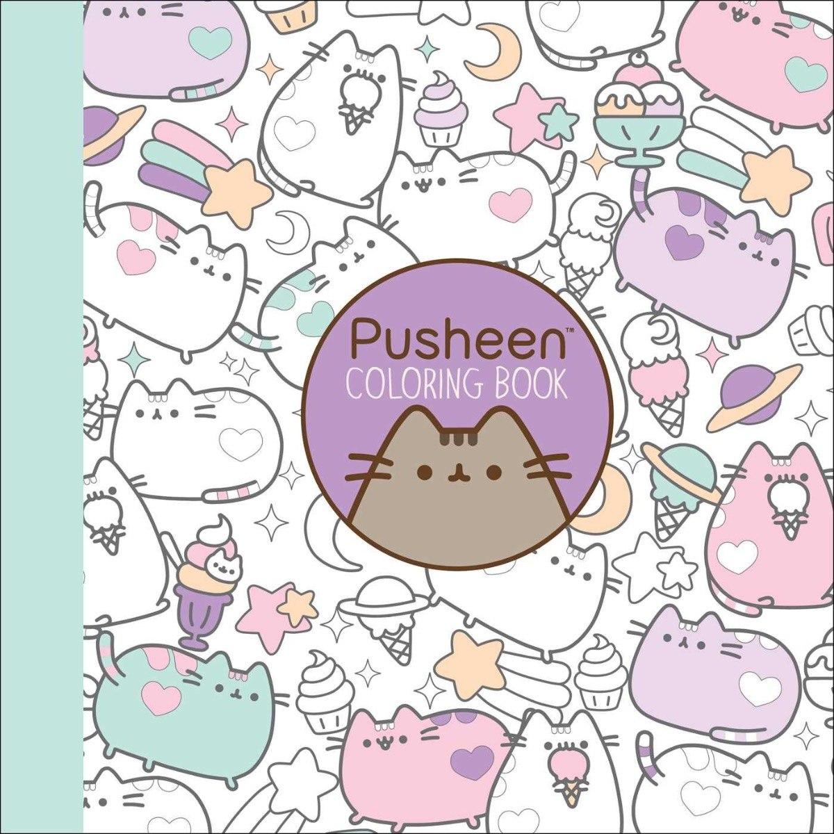 Pusheen Coloring Book (inglés) - Libro Para Colorear - $ 400.00 en ...