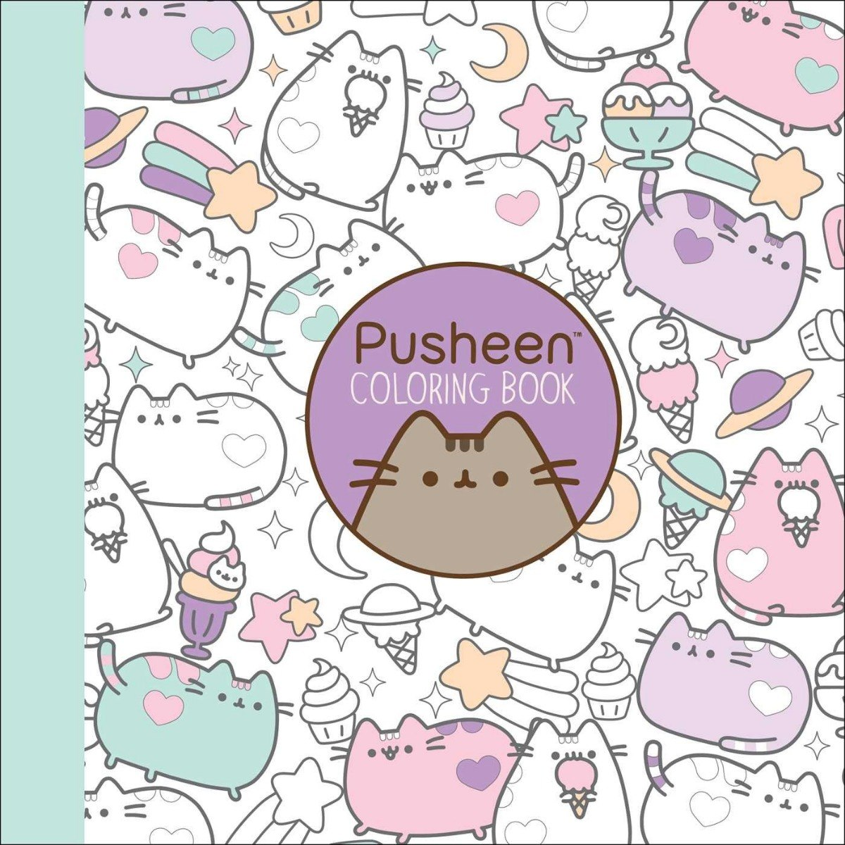 Pusheen Libro Para Colorear De Gato Pusheen Original