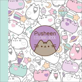 Pusheen Libro Para Colorear De Gato Pusheen Original