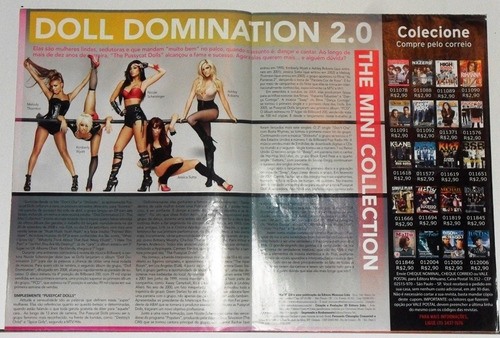 pussycat dolls revista poster otimo estado