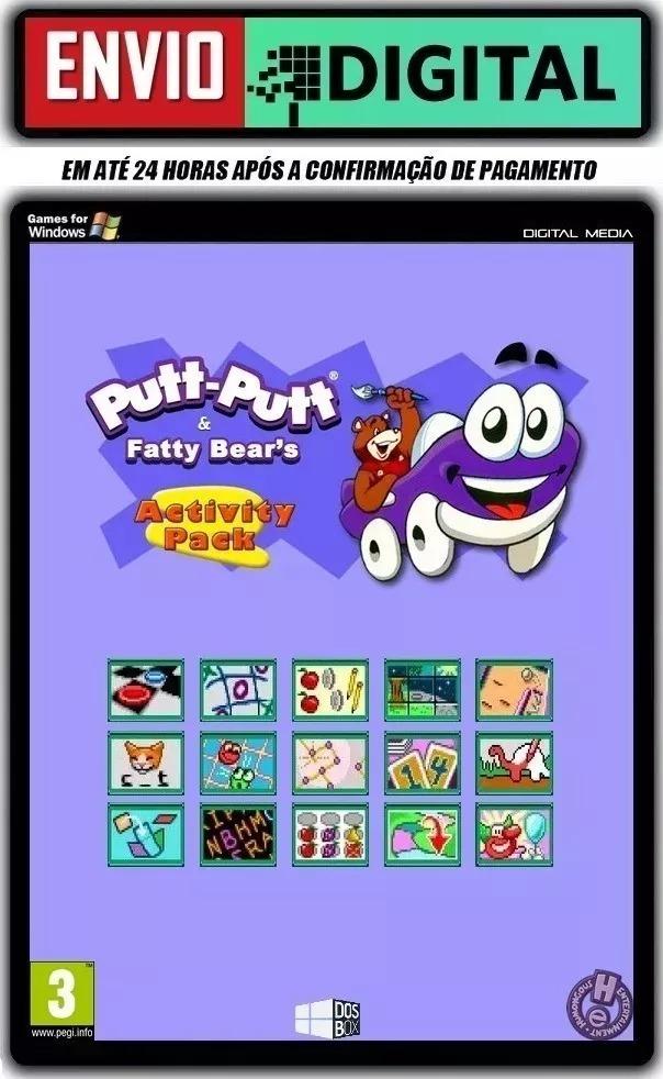 Putt-putt And Fatty Bear's Activity Pack -pc- Envio Digital