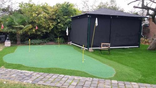 putting green golf en jardines