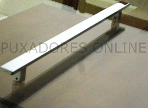 puxador aluminio para portas em geral 60cm polido