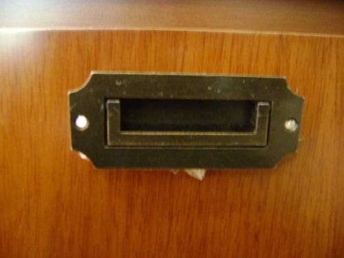 puxador concha com alça (ouro velho)ref(312/10) kit 6 pçs