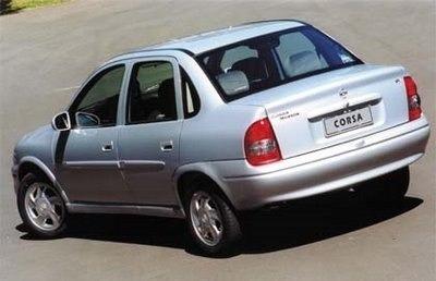 puxador da porta traseira l.d - corsa /hatch/ wagon/ sedan