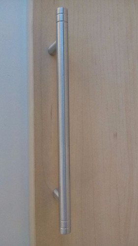 puxador  de alumínio maciço p/ moveis(pronta entrega)