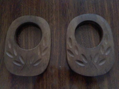 puxador de madeira para cortina