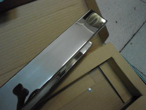 puxador geris 500mm cromado quadrado