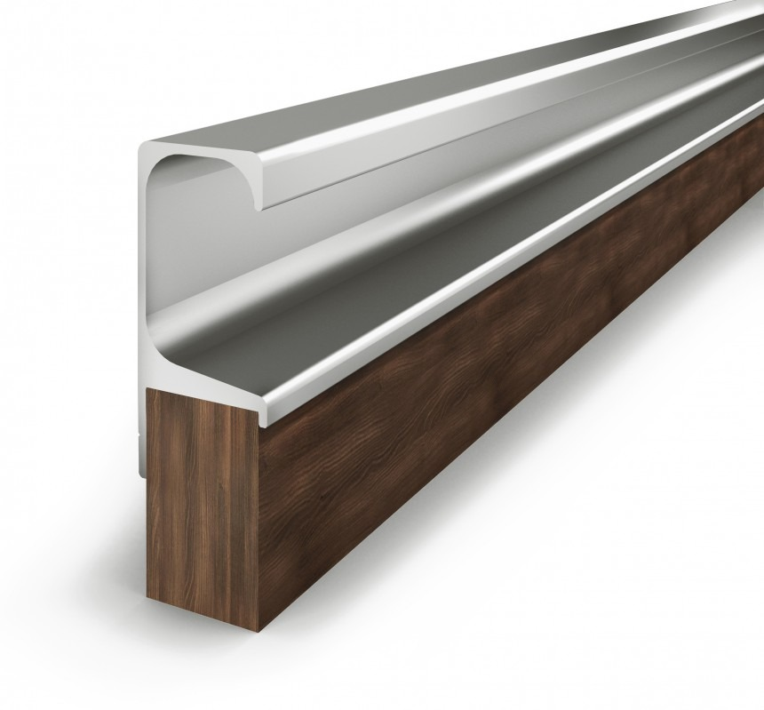 Puxador perfil para arm rios sob medida at 40cm r 9 99 em mercado livre - Perfiles de aluminio para armarios ...