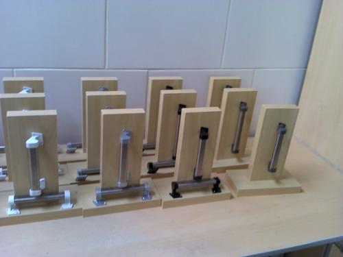 puxador tubo inox 140mm branco ( portas, móveis, gavetas)