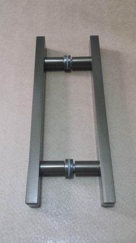 puxadores p/portas pivotantes 50cm x 30cm porta de vidro