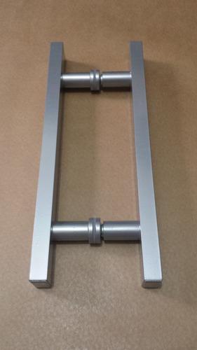 puxadores p/portas pivotantes 60cm x 40cm porta de vidro