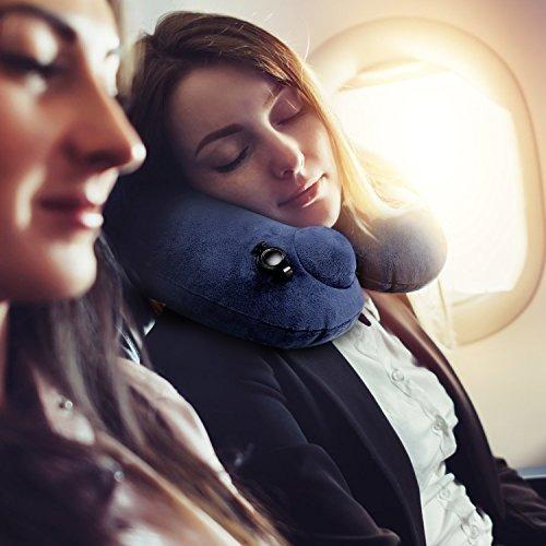puyiyup almohada viaje hinchable - almohada  cuello un viaj