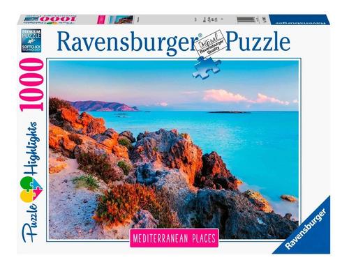 puzzle 1000 piezas mediterranean greece ravensburger 149803