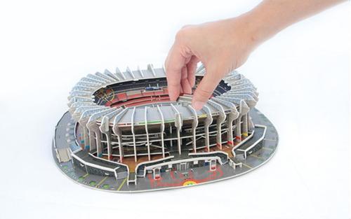 puzzle 3d estadio azteca club américa futbol méxico nanostad