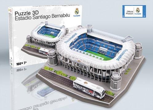 Bernabeu Puzzle Estadio Santiago 3d Gratis Envío lFcT1JK