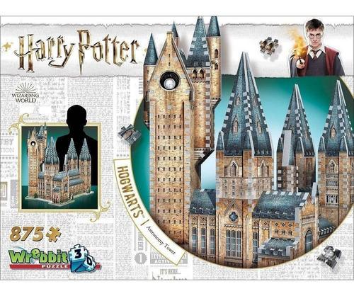 puzzle 3d hogwarts torre de astronomia harry potter 875 pçs