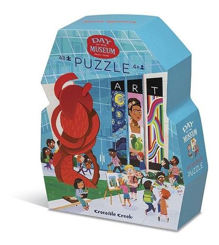 puzzle 48 piezas museo acuario rompecabezas educando