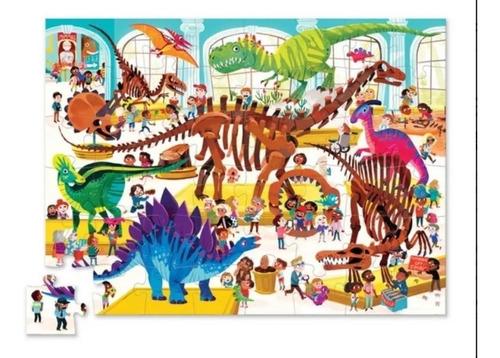 puzzle 48 piezas museo acuario rompecabezas educando full