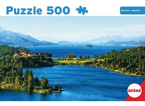 puzzle 500 piezas bariloche argentina antex 3052 educando