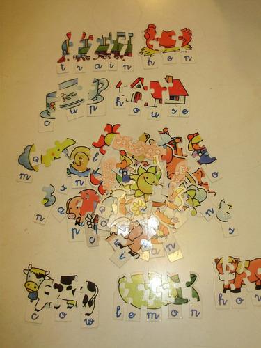 puzzle aprender ingles toyco educacional arg para 5 a 8 años
