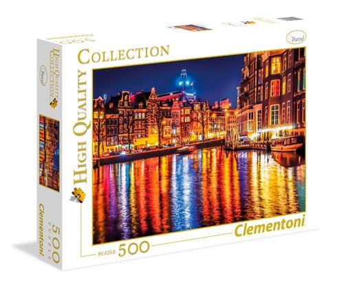 puzzle clementoni 500 pzas amsterdam