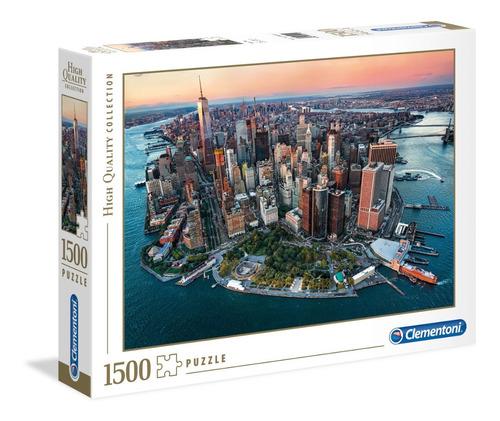puzzle clementoni x 1500 new york nuev 84x59cm 31810 bigshop