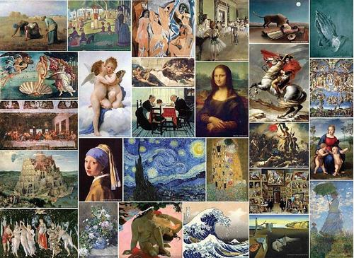 puzzle coleccion museo de arte - 4000 piezas tomax 400-027