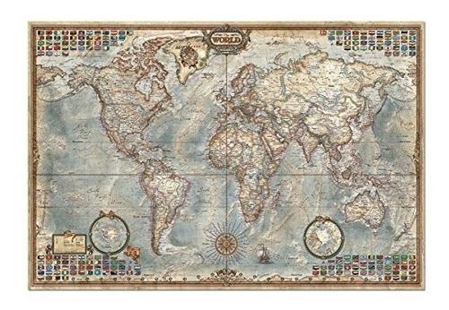 puzzle de 4000 piezas  el mapa mundial