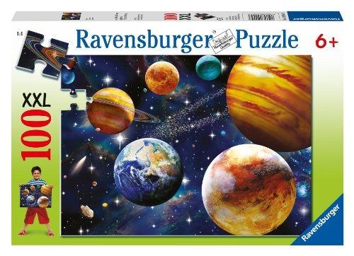 puzzle espacio, 100 piezas
