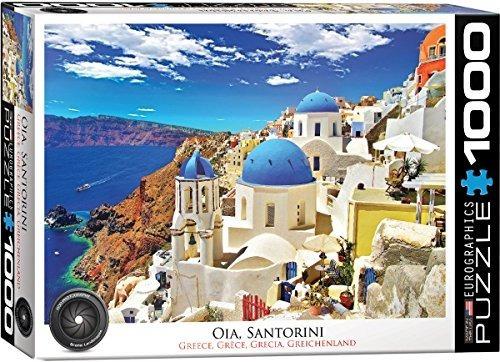 puzzle eurographics oia santorini grecia (1000 piezas)