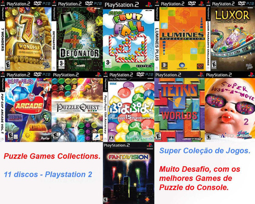 puzzle games desafio collections - playstation 2