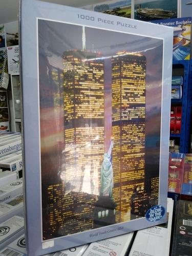 puzzle iluminado world trade center-1000 piezas jigsaw tomax