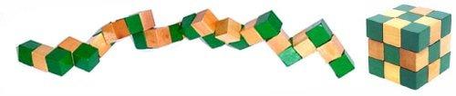 puzzle magic cube de madera - 2 pulgadas