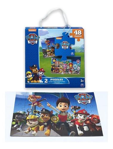 puzzle paw patrol 48 piezas 1607 rompecabezas educando
