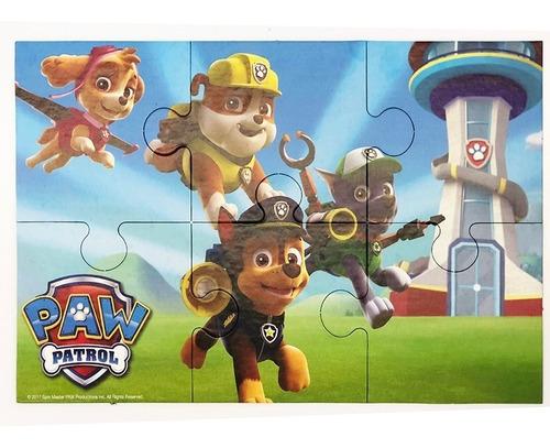 puzzle paw patrol 6 piezas 1605 rompecabezas educando