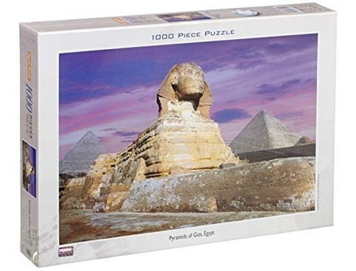 puzzle piramides de giza egipto - 1000 piezas jigsaw tomax