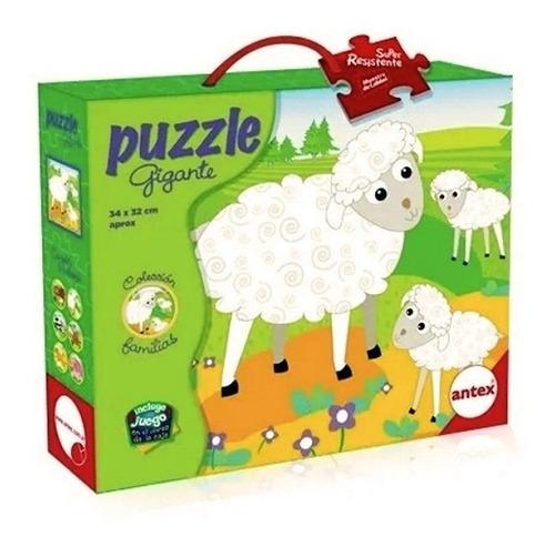 puzzle rompecabezas 9 pz colecc familias ovejas antex 3027
