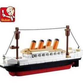 Puzzle Teenage Titanic Modelo Bloques De Construcción Juguet