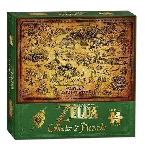 puzzle the legend of zelda oficial hyrule 550pzs / diverti