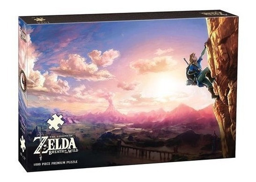 puzzle the legend of zelda oficial wild 1000pzs / diverti